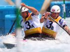 Great Britain take gold, silver