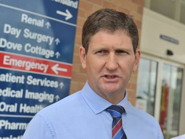 Health Minister Lawrence Springborg