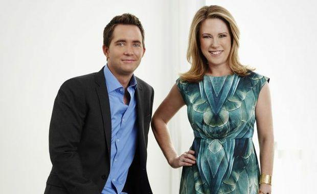 Bryce Holdaway and Veronica Morgan host the TV series Location Location Location Australia.