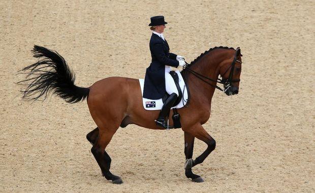 The Australian dressage team has failed to progress at the London Olympics.