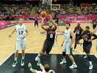 US basketballers all but upset