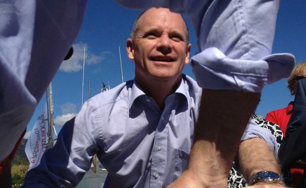 PREMIER Newman has kicked off his two-day trip to the Whitsundays with a visit to Abel Point Marina ahead of today's Community Cabinet in Proserpine.