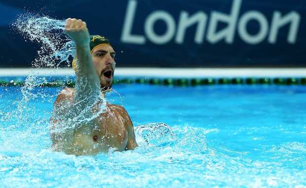 Rhys Howden has helped Australia to a 13-8 victory over Greece.