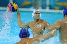 The Australian men's water polo team have been beaten 10-9 by three-time defending champions Hungary.
