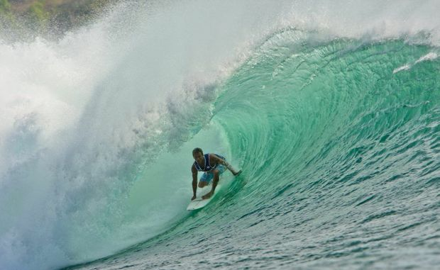 Californian surfer Chris Ward crowned champion of the 9th annual Rip Curl Cup Invitational in Bali.