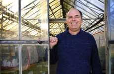 State Aquatic Weed co-ordinator Charlie Mifsud in one of the glass houses at the Grafton Primary Industries Institute where research is conducted into various species of weeds. Charlie is one of the guest speakers at next Wednesday's Weed Expo at the Grafton Showground.