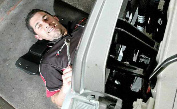 Chris Kolovos from Alden Automotive believes preventative maintenance will save money.