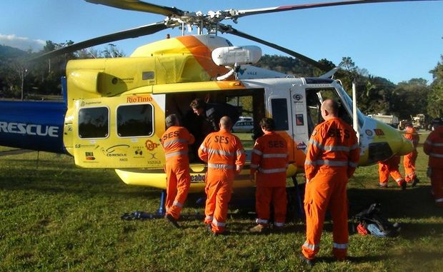 SES volunteers scale back as the search for missing bushwalker Sean Russell is downgraded.