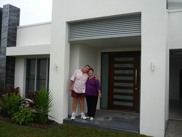BETTY and Tony of Roma are the lucky winners of the latest Mater Prize Home draw, winning a home in Mount Coolum valued at $1,081,656.