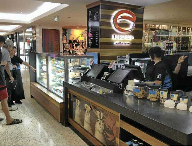 The new coffee shop Esquires at Caneland Central will hold its grand opening on Saturday, with giveaways for customers. The store also aims to be a technology hub as clients can use iPads and recharge phones while enjoying their coffee and snacks.