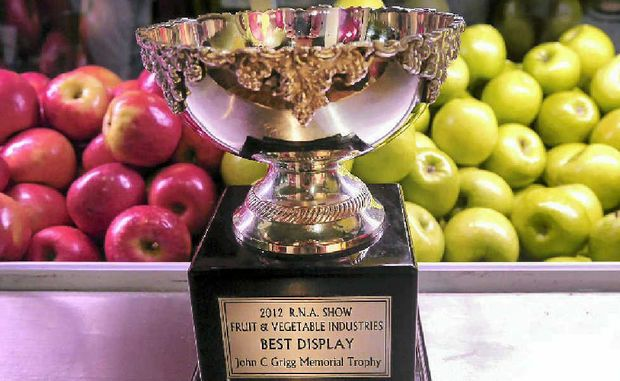 AN APPLE A DAY: Stanthorpe farmers savoured a win at the Ekka. Now organisers are calling for Granite Belt growers to come to the Ekka so consumers can talk to them first-hand.