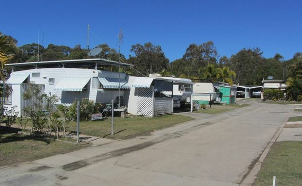 Residents at Lazy Acres at Hervey Bay are still fighting to hold onto their homes.