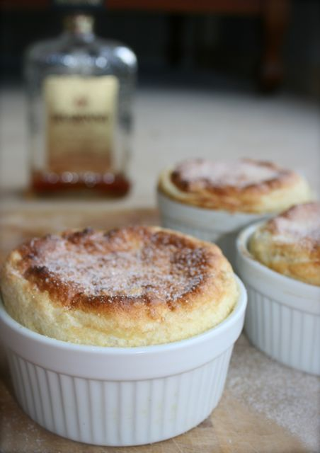 Miss Foodie's Disaronno Amaretto and lime soufflé.
