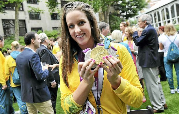 Brittany Elmslie proved she was the real deal at the London Olympics with a gold and two silver medals.