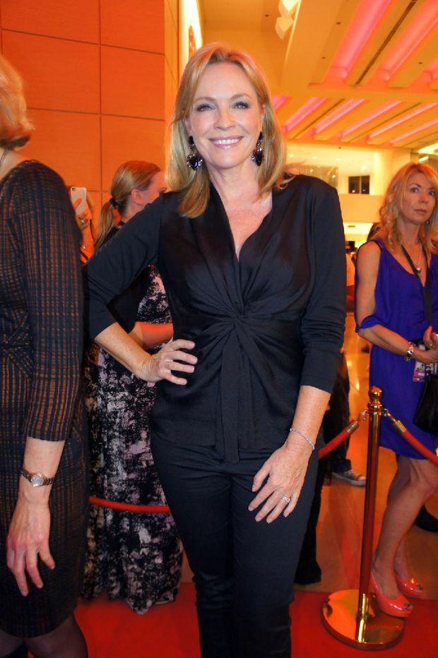 Rebecca Gibney at the premiere of the new Aussie film, Mental.