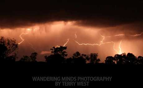 This stellar shot was captured by Terry West 20kms west of Warwick on Thursday night.