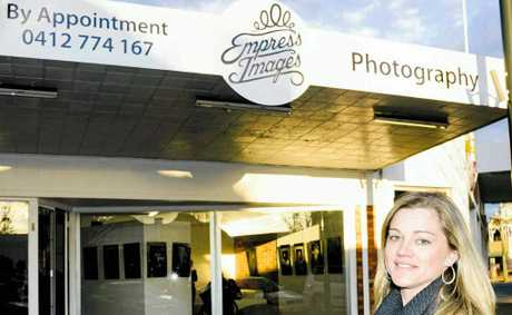 Shanea Rossiter has opened her new photography studio, Empress Images, on Palmerin St.