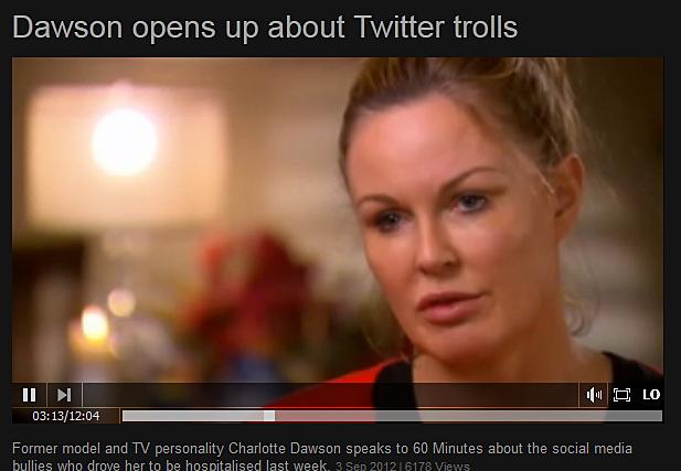 TV personality Charlotte Dawson