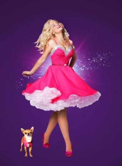 Lucy Durack plays Elle Woods in Legally Blonde The Musical.