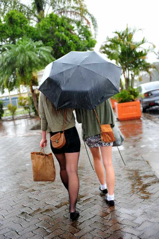 Heavy rain is on the way for Tweed.