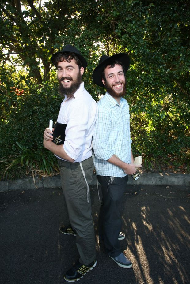 Meir Kalmanson and Shmuly Levitin are rabbis travelling from Melbourne to Cairns to re-connect with regional Jewish communities.
