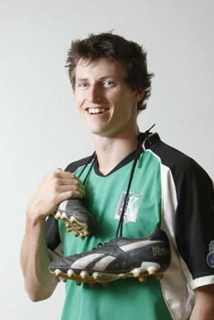 Division 1 Ipswich Knights player Peter Drager was one of the golden boot winners for 2011.