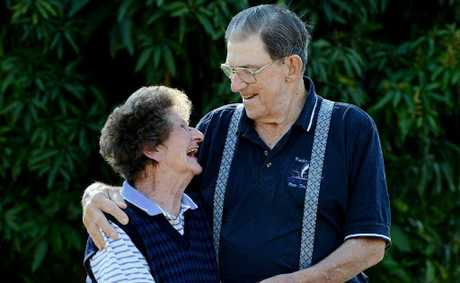 Eva and Roy Schiefelbein celebrated their 60th wedding anniversary on August 23.