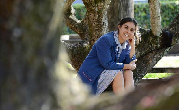 Amelia Telford, Year 12 student at Trinity Catholic College.