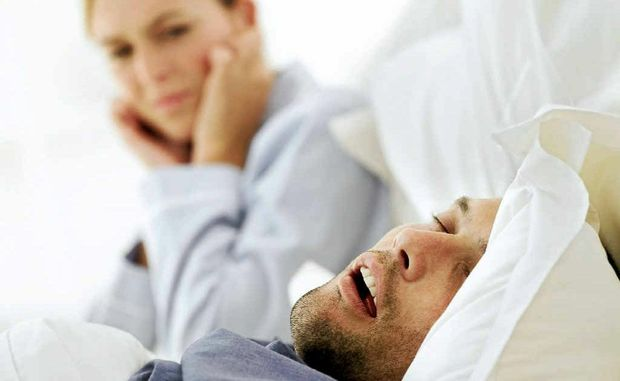 Constant snoring can prove harmful to the health of a sleep-deprived partner.