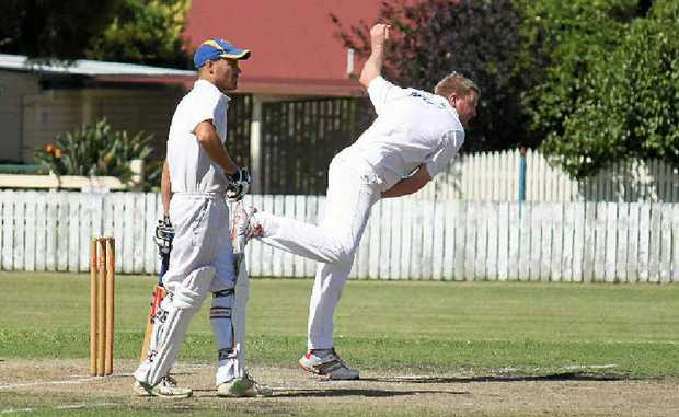 The cricket season is launched again this weekend. David Elsley (bowling) took two wickets and top-scored in the Inglewood grand final win in Warwick A-grade cricket last year.