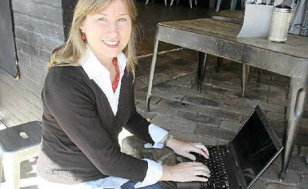 ROMANTIC HEROINE: Jennifer St George, who has won New Zealand's top prize for a romance novel