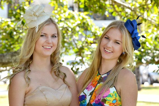 Jordan and Karly Farren-Price are entrants in the Caneland Central 'Face of the Races' competition.