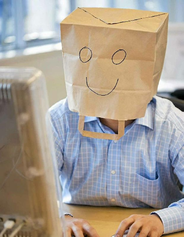 We all have tough days, but this businessman has a different way to keep smiling.