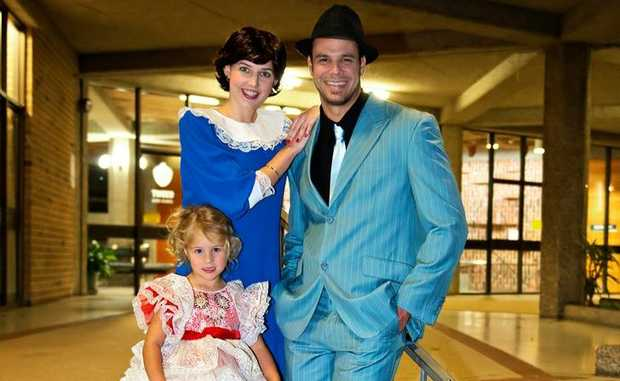 Casey Fegan, Tammy Dundon, Sky Nuttall and Fang are all excited be part of the Guys and Dolls production.