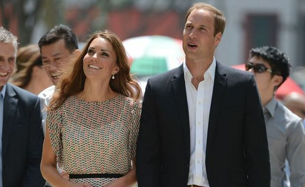 The Duke and Duchess of Cambridge.