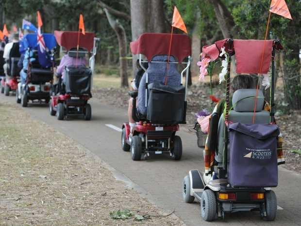 Warwick pedestrians feel they are in the crosshairs of speeding motorised scooters.