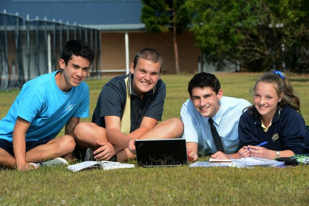 Banora Point High School students are passionate about creating a positive school environment.