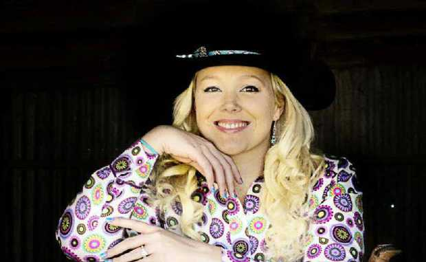 Sarah Whybrow is eager to be crowned Warwick Rodeo Queen.
