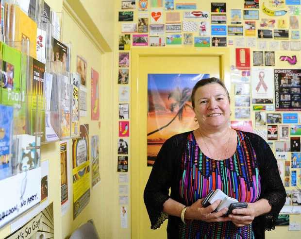Glenda Aubrey, a clinical nurse specialist at Grafton Base Hospital's Sexual Health Clinic, is encouraging safe sex as part of Sexual Health Week.