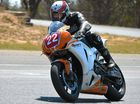 MOTORCYCLE enthusiasts are today mourning the loss of one of their own after a rider was killed in a practice session at Morgan Park Raceway yesterday.