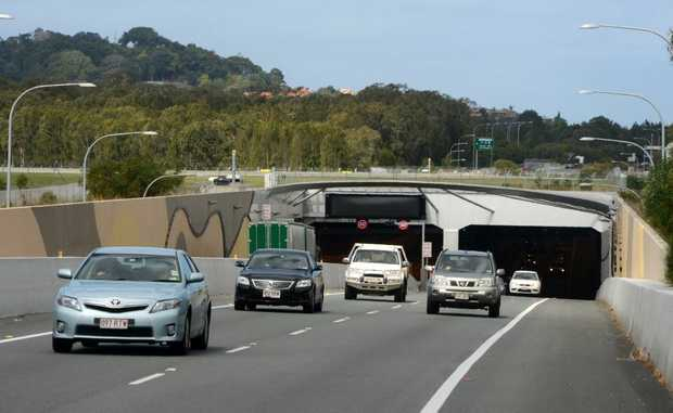 The crash occured in the Tugun Bypass tunnel.