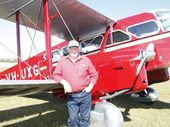 DES Porter's wife and four crewmen were aboard a vintage plane which went missing over the Sunshine Coast hinterland yesterday.