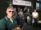 Tweed men get their new shed