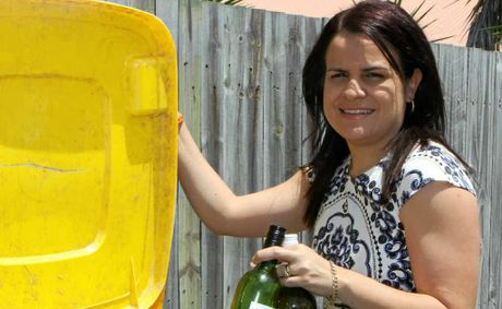 ALCOHOL-FREE: Hope White has taken on the challenge of giving up alcohol for Ocsober, to set a good example for her children and raise money for Life Education.