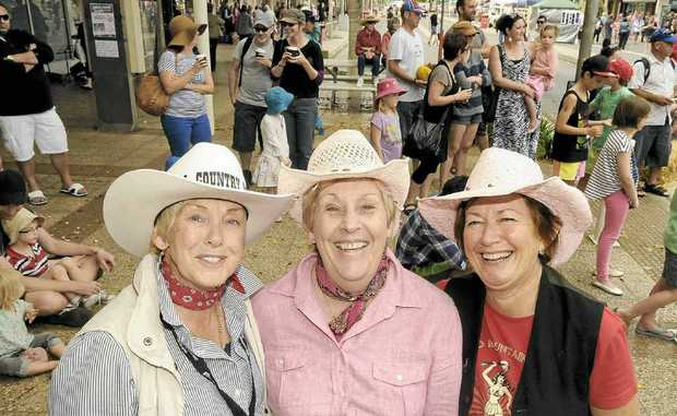 WORTH THE EFFORT: Ballina Coastal Country Music Festival volunteer Leonie Gates with committee members Carol Stacey and Pam Steel. The event attracted thousands of people to Ballina and the organisers will do it all again next year.