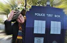 MP George Christensen as Doctor Who is inviting the makers of the series to use their Tardis and come to our region to film an episode, helping boost our profile and tourism.