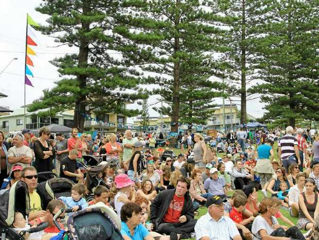 Crowds for the Surfing the Coldstream Festival seem to grow every year.