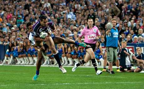 Melbourne Storm player and one time Warwi