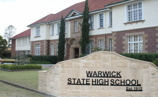 The crossing trial has started at Warwick State High School.