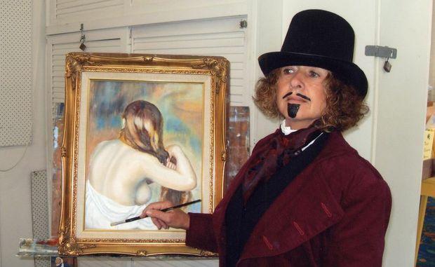 Marilyn Anderson AKA Renoir at the last Tweed Unlimited Arts party.